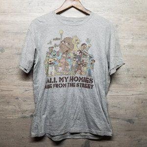 Sesame Street Graphic T Shirt. Brand New! Soft!